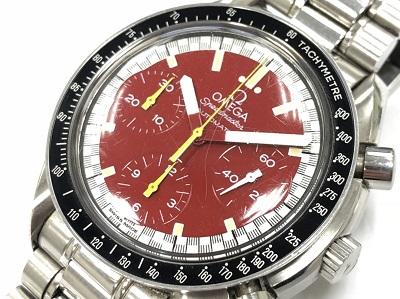 時計 オメガ スピードマスター 3510.61 シューマッハモデル 高価買取 マルカ 京都マルイ