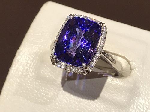タンザナイト 買取 宝石 京都 四条 烏丸 指輪 ダイヤ 高価買取