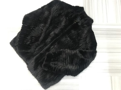 毛皮買取 サガミンク ショートコート ブラック 毛皮高く売るなら MARUKA大宮店へ