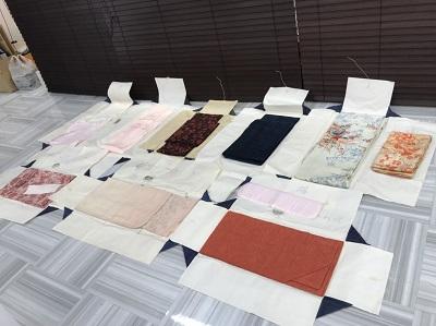 着物買取 訪問着 留袖 9点 着物売るならMARUKA大宮店へ