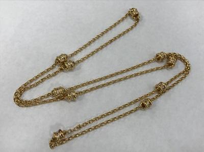 ダイヤモンド買取 K18イエローゴールド台 ダイヤモンド 1.30ct ネックレス ダイヤモンド高く売るなら MARUKA大宮店へ