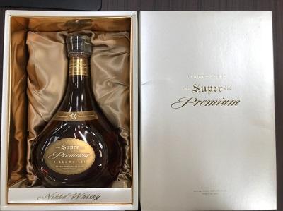 お酒買取 ニッカウイスキー レア スーパー オールド プレミアム 750ml 箱付 お酒高く売るなら MARUKA大宮店へ