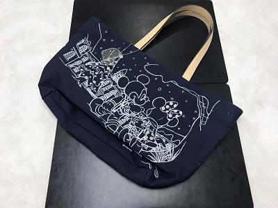サマンサタバサ買取 トートバッグ キャンバス ネイビー 神戸マルイ店 買取 神戸 元町 三宮