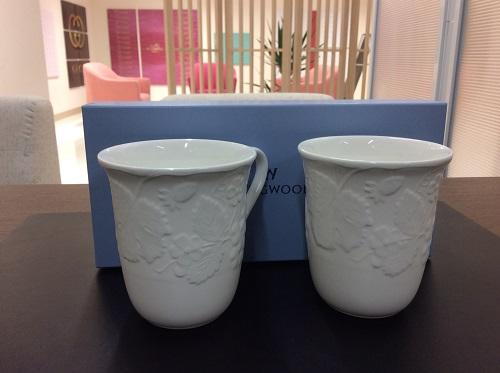 ウェッジウッド ペアマグカップ 高価買取 京都 下京区 四条河原町 マルカマルイ店