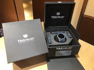 タグホイヤー買取 コネクテッド モジュラー45 スマートウォッチ 時計買取 渋谷