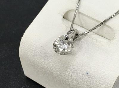 ダイヤモンド買取 プラチナ台 1.045ct ラウンドブリリアントカット ダイヤモンド ネックレス ダイヤモンド高く売るなら MARUKA大宮店へ