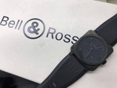 Bell&Ross ベルロス買取 BR03-92 ファントム 時計買取ならMARUKA心斎橋店