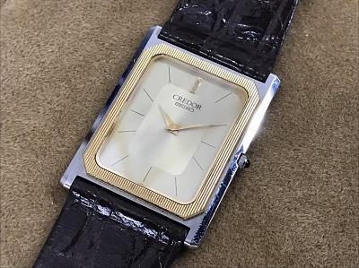 セイコー買取 クレドール買取 6730-5090 生前整理 遺産整理 時計 アンティーク