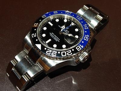 ロレックス GMTマスター 機械式 時計 高価買取 マルカ 京都マルイ