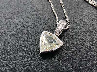 ダイヤモンドペンダント買取 1.515ct 異形カット 大粒ダイヤ売るならMARUKA心斎橋店