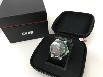 オリス アクイス買取 高級 ブランド 時計買取 兵庫県 宝塚市 神戸市のMARUKA