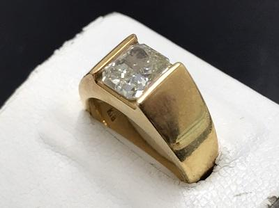 ダイヤモンド買取 2.022ct 18金買取 宝石買取 変形カット 下京区 西七条 西大路 七条店
