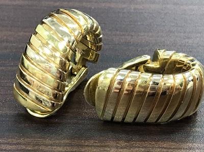 ブルガリ買取 トゥボガス イヤリング 750 本体のみ ブルガリ高く売るなら MARUKA大宮店へ