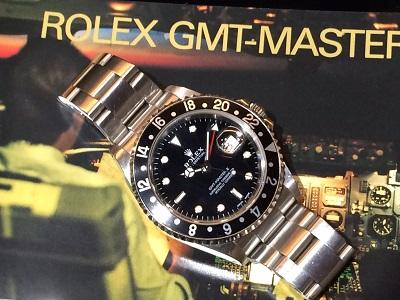 ロレックス買取 GMTマスターRef.16710 黒ベゼル U番 GMTマスター買取強化中!