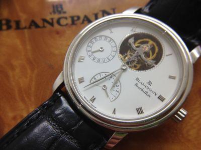 BLANCPAIN ブランパン シックスマスターピース トゥールビヨン 00233427 Pt950 高価買取 京都 七条