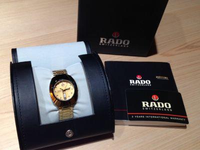 ラドー(RADO) ダイヤスター 648.0413.3 自動巻き GP 時計 中古品 渋谷 買取