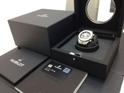 HUBLOT ウブロ ビッグバンウニコ チタニウム 411.NX.1170.RX 腕時計 美品 高価買取 七条店