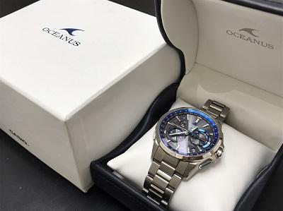 カシオ買取 オシアナス買取 電波時計 美品 0CW-G1000 下京区 西七条 西大路 七条店
