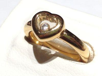 ショパール(Chopard)ハッピーダイヤモンドリング イエローゴールド ダイヤモンド