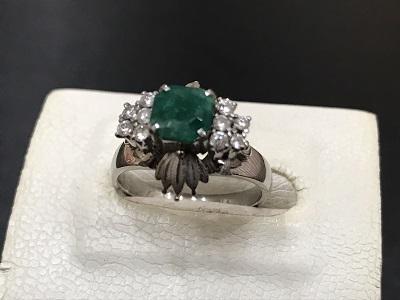 エメラルド プラチナ リング買取 宝石 ジュエリー買取なら 神戸三宮 JR元町 阪神元町のMARUKA