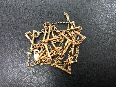 金 K18 ネックレス買取 古くても ゴールド買取なら 明石市 芦屋市 西宮市のMARUKA