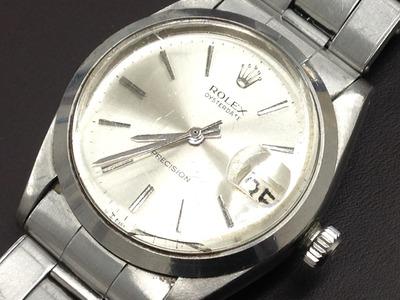 ロレックス買取 オイスターデイト 6694 プラスチック風防 古い時計買取もMARUKA心斎橋店