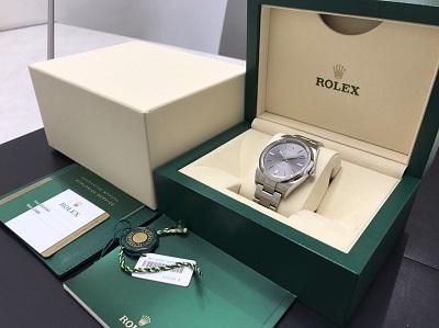 ロレックス買取 オイスターパーペチュアル買取 Ref.114300 時計買取 下京区 西七条 西大路 七条店