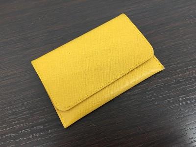 エルメス カードケース買取 イエロー ブランド品買取なら神戸 元町 三宮のMARUKA