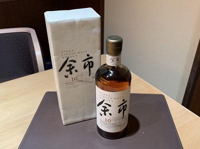 お酒買取 余市 ウイスキー買取 お酒を売るならMARUKA渋谷店 プレミア ヴィンテージ
