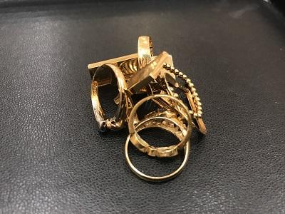 金 K18 ゴールド買取 黄金 指輪 カフス買取なら神戸三宮 神戸市 西宮市のMARUKA