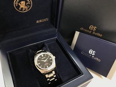 グランドセイコー時計買取 ステンレス クォーツ式 品番SBGX093 箱・保証書 マルカ 全国対応の宅配買取