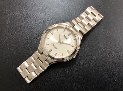 セイコー時計を売るならマルカドルチェ ステンレス メンズ 中古品 京都 マルカ京都マルイ店 大阪