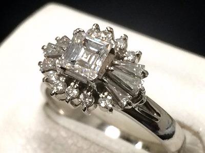 ダイヤモンドリング買取 0.36ct 0.41ct デザインが古い小さなダイヤも MARUKA心斎橋店