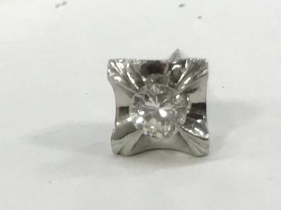 ダイヤモンド買取 プラチナ台 0.21ct ダイヤモンド タイタック ダイヤモンド高く売るなら MARUKA大宮店へ