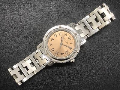 エルメス時計売るならマルカ! クリッパー ステンレス レディース CL4.210 マルカ四条大宮店 大阪 京都