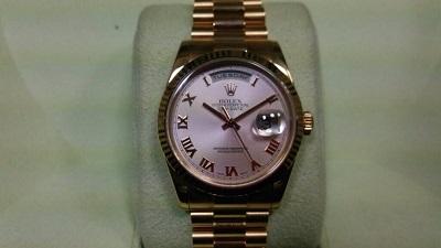 ロレックス買取 デイデイト 118235 ロレックス最高峰の時計買取ならMARUKA心斎橋店
