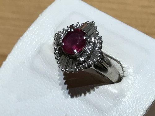 ルビー  宝石 買取 京都 四条 烏丸 指輪 ジュエリー