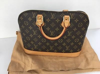 モノグラムバッグ売るならマルカ ルイヴィトン・アルマ買取 ハンドバッグ 美品 マルカ 郵送でのお買取り 全国対応