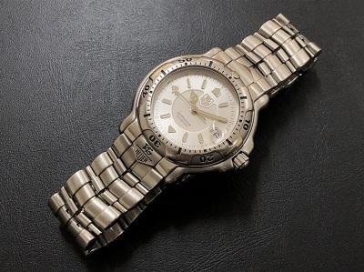 タグホイヤー買取 メンズ時計 セルシリーズ WH1213 本体のみ 電池切れ ブランド買取 京都 四条 河原町 下京区 マルイ店