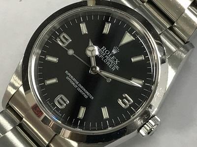 ロレックス買取 エクスプローラ1 Ref.114270 Y番 本体のみ ロレックス高く売るなら MARUKA大宮店へ
