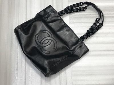 シャネル買取 トートバッグ ラムスキン プラスチック 5番台 シャネル高く売るなら MARUKA大宮店へ