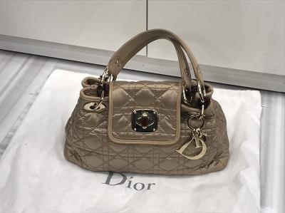 ディオール買取 ハンドバッグ カナージュ ナイロン M1900 ディオール高く売るなら MARUKA大宮店へ