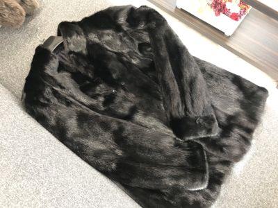 毛皮買取 ラストチャンス ミンクハーフコート 黒 毛皮売るなら大阪MARUKA心斎橋店