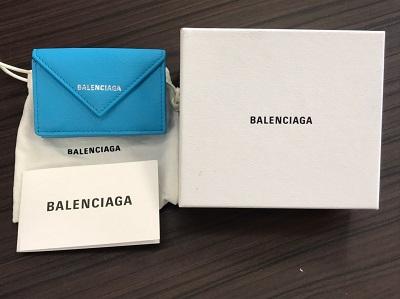 バレンシアガ買取 ペーパーミニウォレット 391446 バレンシアガ高く 売るなら MARUKA大宮店へ