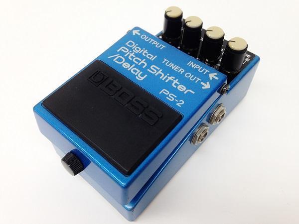 BOSS PS-2 Digital Pitch Shifter/Delay 買取 京都 楽器買取 四条 エフェクター