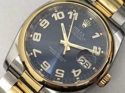 ロレックス買取 デイトジャスト Ref.116203 D番 本体のみ ロレックス高く売るなら MARUKA大宮店へ
