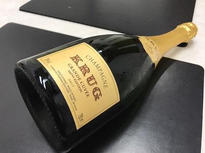 クリュッグ買取 グランキュヴェ シャンパン買取 お酒 下京区 西七条 西大路 七条店