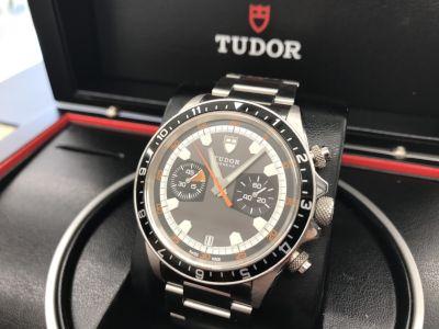 チュードル買取 ヘリテージクロノ 70330N 大阪で時計売るならMARUKA心斎橋店