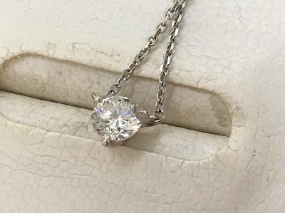 プラチナ ダイヤ ネックレス買取 Pt850 宝石 買取なら神戸市 灘区 東灘区のMARUKA