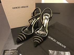 ジョルジオアルマーニ ブランド買取 パンプス 靴買取 質屋 MARUKA